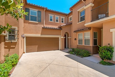Del Sur, Del Sur Community, Del Sur/Santa Fe Hills Townhouse For Sale: 8526 Old Stonefield Chase