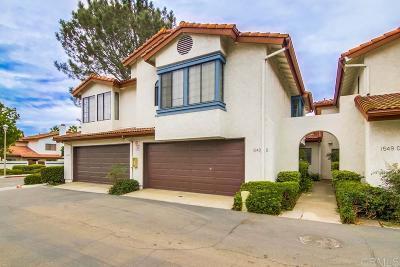 Rancho Del Rey Townhouse For Sale: 1549 Apache Dr #B