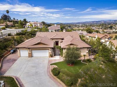 Escondido Single Family Home For Sale: 908 Bellagio