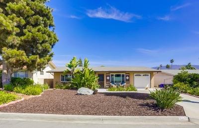San Marcos Single Family Home For Sale: 933 La Bonita Drive