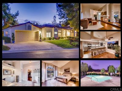 Escondido Single Family Home Sold: 29511 Circle R Greens Dr