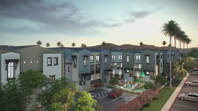 Santee Townhouse For Sale: 8850 Olive Lane #2