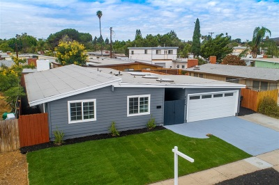 Single Family Home For Sale: 6234 Amber Lake Ave