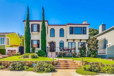 Sunset Cliffs Single Family Home For Sale: 1126 Savoy Street