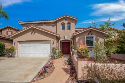 Single Family Home For Sale: 8222 Via Panacea