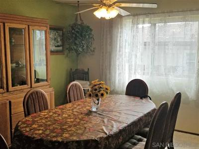 Chula Vista Single Family Home For Sale: 86 E E Emerson St