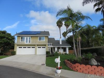 Carlsbad Single Family Home For Sale: 7772 Pendon Court