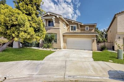 Chula Vista Single Family Home For Sale: 851 Bryce Canyon