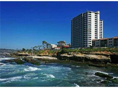 La Jolla Rental For Rent: 939 Coast Blvd #3 D