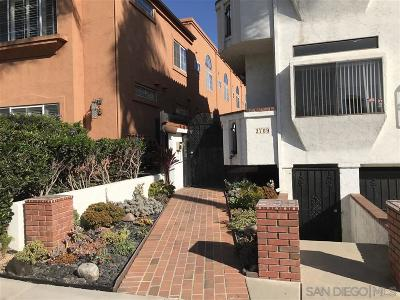 San Diego Attached For Sale: 3709 7th Avenue #8