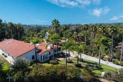 Rancho Santa Fe Single Family Home For Sale: 17214 Via Cuatro Caminos