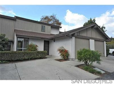Escondido Townhouse For Sale: 307 Ranchwood Glen