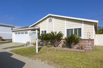 Chula Vista Single Family Home For Sale: 673 Watertown Ln