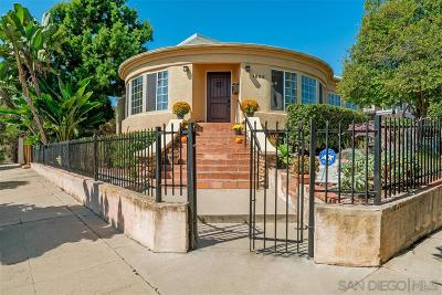 South Park, Golden Hill Single Family Home For Sale: 1802 Bancroft Street