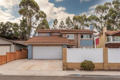 San Diego Single Family Home Sold: 1045 Angelus Ave