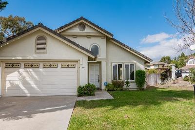 Chula Vista Single Family Home For Sale: 1959 Rue Chateau
