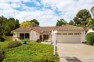 Vista Single Family Home For Sale: 2066 Balboa Cir