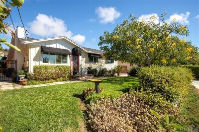 Encinitas/Leucadia, Leucadia, Leucadia Beach Community, Leucadia/Encinitas Single Family Home For Sale: 809 Eugenie