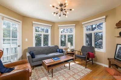 Hillcrest, Hillcrest North Park, Hillcrest/Balboa Park, Hillcrest/Bankers Hill, Hillcrest/Mission Hills, Hillcrest/University Heights Townhouse For Sale: 4201 5th Ave