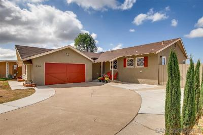San Diego Single Family Home For Sale: 926 Kelton