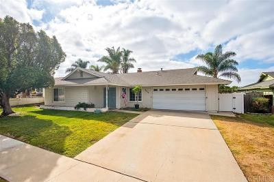 Oceanside Single Family Home For Sale: 4017 Via Rio Ave