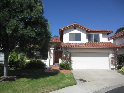 Single Family Home For Sale: 4276 Caminito Terviso