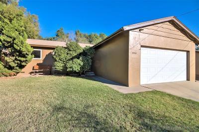 Single Family Home For Sale: 2453 Edding Drive