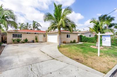 San Marcos Single Family Home For Sale: 843 Via Juanita