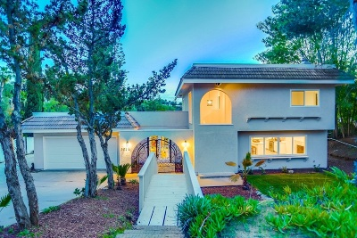 Vista Single Family Home For Sale: 3026 Oriente Dr