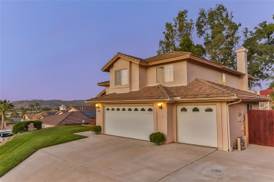 Santee Single Family Home For Sale: 8631 Clifford Heights Road