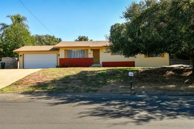 Escondido Single Family Home For Sale: 926 Park Dr