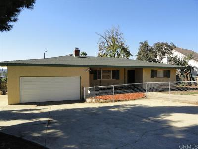 Escondido Single Family Home For Sale: 815 S Vine