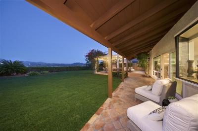 San Diego Single Family Home For Sale: 17391 Bernardo Center Drive