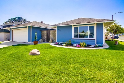 Chula Vista Single Family Home For Sale: 354 E Oneida St