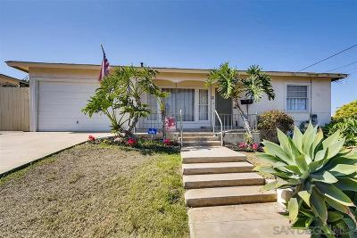 Chula Vista Single Family Home For Sale: 4 Date Ave