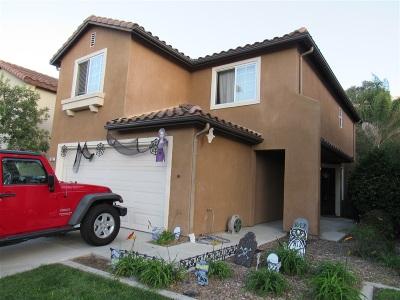 Chula Vista Single Family Home For Sale: 820 Caminito Cumbres