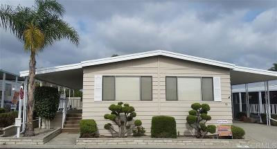 San Marcos Mobile/Manufactured For Sale: 650 S Rancho Santa Fe #53