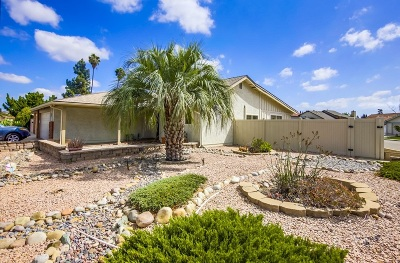 San Diego Single Family Home For Sale: 10307 Orozco Rd
