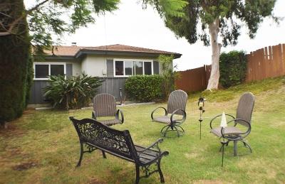 Chula Vista Single Family Home For Sale: 53 Whitney St