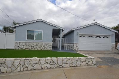 Clairemont, Clairemont East, Clairemont Mesa, Clairemont Mesa East Single Family Home For Sale: 6414 Thornwood St