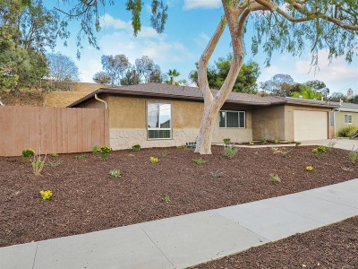 Santee Single Family Home For Sale: 10027 Settle Rd