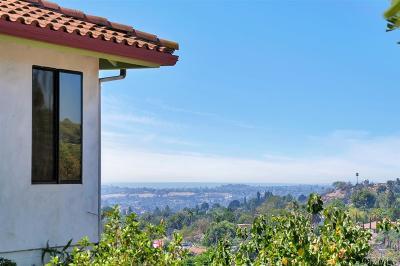 La Mesa Single Family Home For Sale: 11008 Dutton Dr