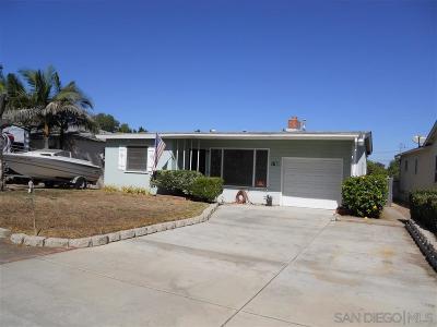 Single Family Home For Sale: 1768 Dayton Dr
