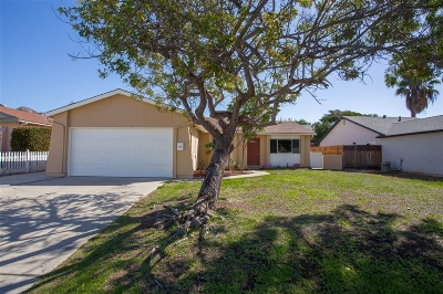 Poway Single Family Home For Sale: 15143 Hesta Street