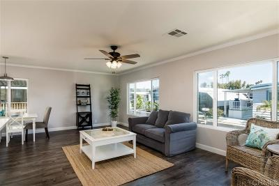 Carlsbad Mobile/Manufactured For Sale: 7217 San Luis #173
