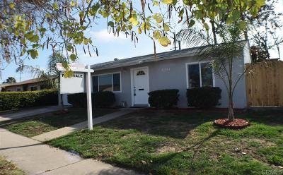 San Diego Single Family Home For Sale: 802 Billow Dr