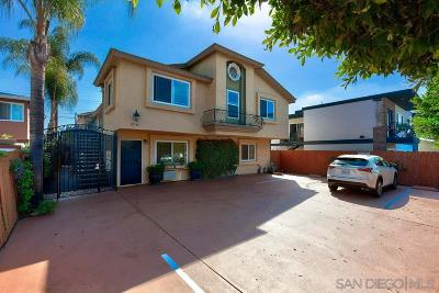 San Diego Attached For Sale: 3747 32nd Street #5