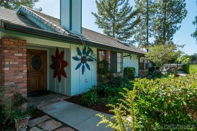 Escondido Single Family Home Sold: 28251 Stonington Way
