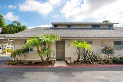 San Diego Townhouse For Sale: 4748 68th #A