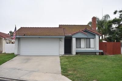 Oceanside Single Family Home For Sale: 4453 White Pine